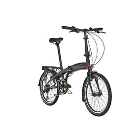 Ortler London One - Bicicletas plegables - negro